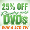 25% Off Anarchy's 'Playing With' DVDs!